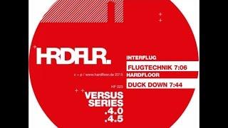 "HF023 - Interflug ""Flugtechnik"" / Hardfloor - ""Duck Down"" (snippets)"