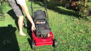 MTD USA made lawn mower!