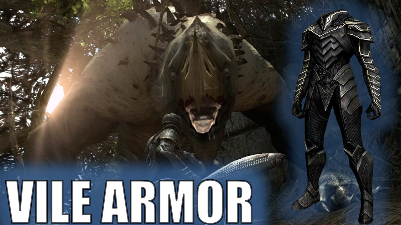 Infinity Blade 2 How To Get The Vile Armor Youtube