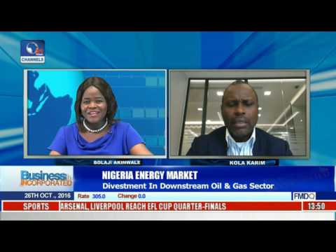 Business Incorporated: Nigeria Energy Market Divestment In Oil And Gas Sector