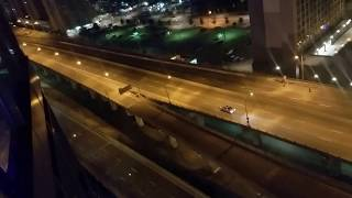 Person drives in Reverse on Toronto Highway to make Exit! SO STUPID