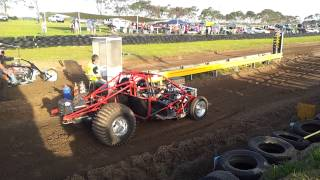 Carla's 600hp Sand Drag Buggy - Trench Cutter Racing - Millicent 2013