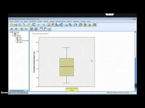 11  Diagrama de caja y brazos con SPSS