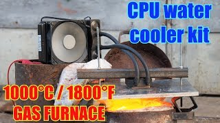EXTREME CPU Cooler Test   Water + Air Coolers Vs. GAS FURNACE!