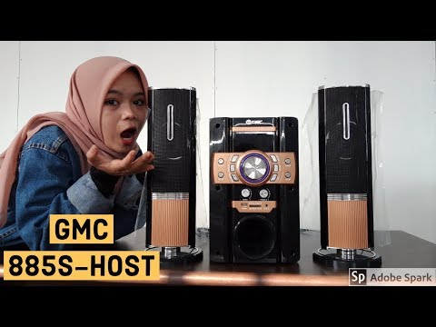 Review Speker GMC 885S-HOST//mantap Abiss 👍👍