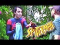 REAL Spider-Man Washes Car for Indian Man!