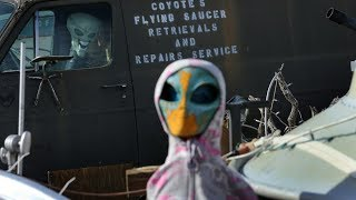 'Storm Area 51' begins as people gather in the Nevada Desert