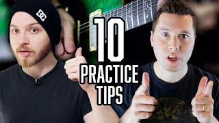 10 Guitar Practice Tips That Actually Work (feat. Music Is Win) | Pete Cottrell