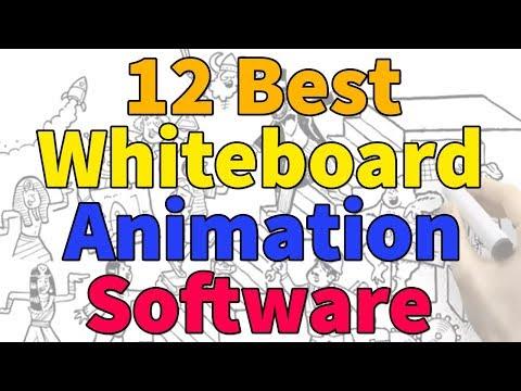 Whiteboard Animation | 12 Best Whiteboard Animation Software