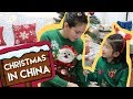 Passing the Christmas Spirit to a Chinese girl! (Spanish Subtitles)