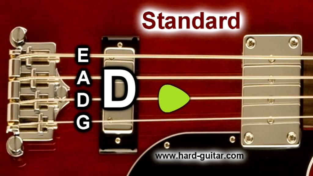 Bass Guitar Tuner E Standard Tuning E A D G 4 Strings Youtube