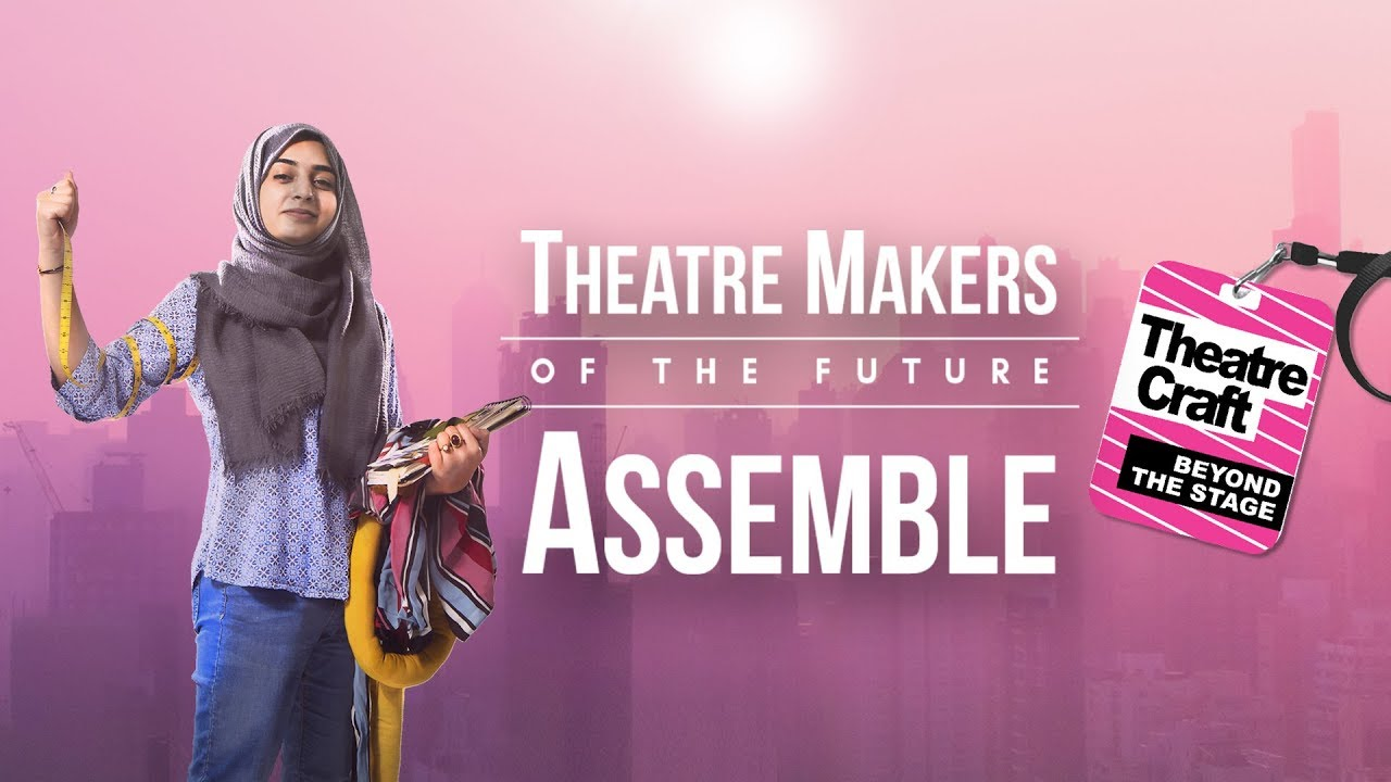 Theatre Makers Of The Future Assemble Kadhija Raza Set Costume Designer Youtube