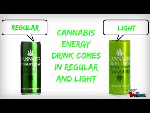 Cannabis Energy Drink Design Ideas