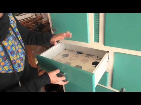 Alacena de cocina restaurada youtube for Alacenas para cocina
