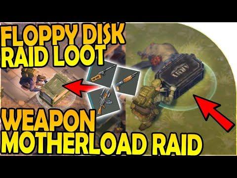 RAIDED! - FLOPPY DISK RAID LOOT + WEAPON MOTHERLOAD RAID - Last Day On Earth Survival 1.7.2 Update