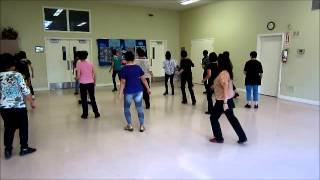 Wanna Wanna Woop ~ Line Dance (Walk thru & danced)