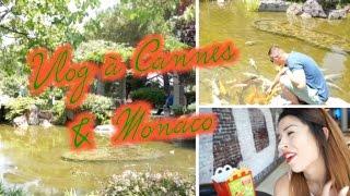 Vlog à Cannes & Monaco #1: Jardin Japonais & Room Tour !