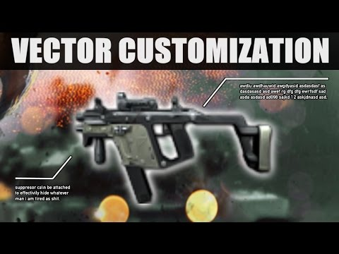 contract wars kriss vector custom youtube