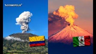 10 volcanes más pellgrôsôs de américa latina 2 están en méxico