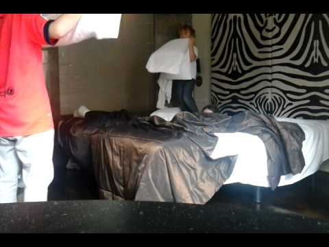 Spanish pillow fight by daniel goldberg
