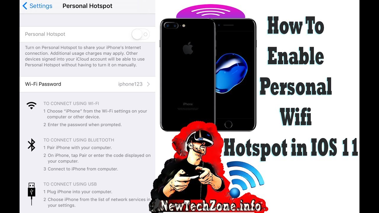 How to set up personal hotspot on iphone 6 tracfone