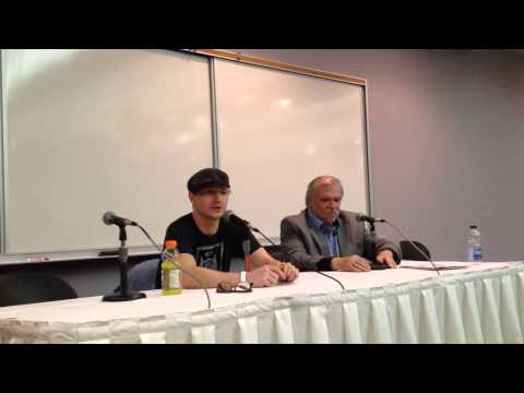 Chad Rook at Windsor, Ontario Comic Con  12072014