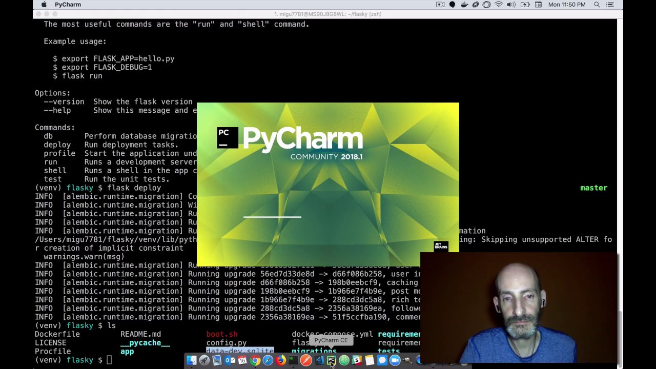 Setting Up a Flask Application in PyCharm - miguelgrinberg com