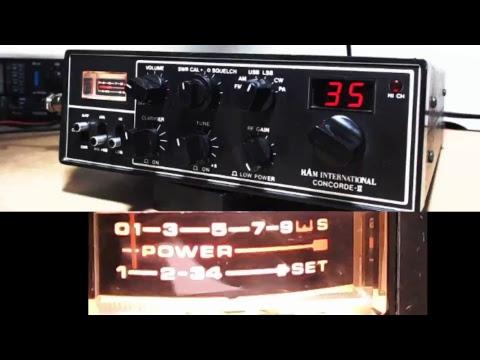 11meterdx Wagga Live Stream 25/2/2018 (27mHz Aussie CB radio) Ham International Concorde 2