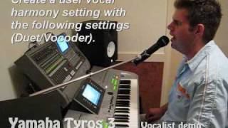 Tyros 3: Rose Garden - Lynn Anderson (Vocal Harmony)