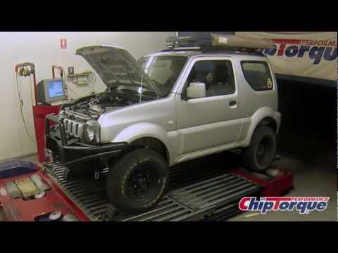 Suzuki Jimny Supercharged - ChipTorque Dyno
