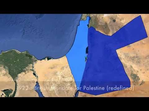 A Historical View of the IsraeliPalestinian Territorial Dispute