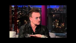 U2's Bono   The Edge Perform Stuck In A Moment On David Letterman   Youtube1