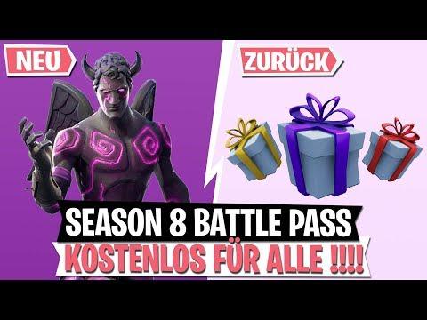 *KOSTENLOS* Season 8 Battle Pass für ALLE! Skins Verschenken!   Infanteriegewehr   Fortnite