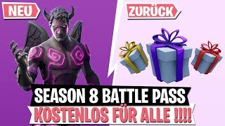 *FREE* Season 8 Battle Pass for ALL! Skins Gift! | Infantry Rifle | Fortnite