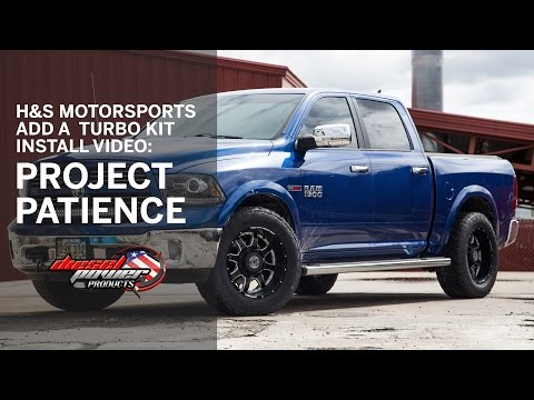 Diesel Power Products: H&S Motorsports Add A Turbo Install