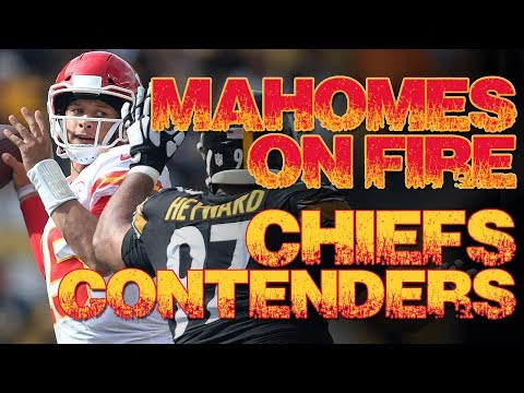 Patrick Mahomes NFL TD Record + Chiefs contenders | Film highlights | Kansas City Chiefs 2018