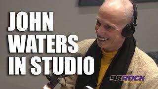 John Waters In Studio
