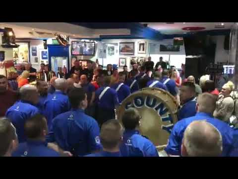 County Flute Band at the Bristol Bar 2017