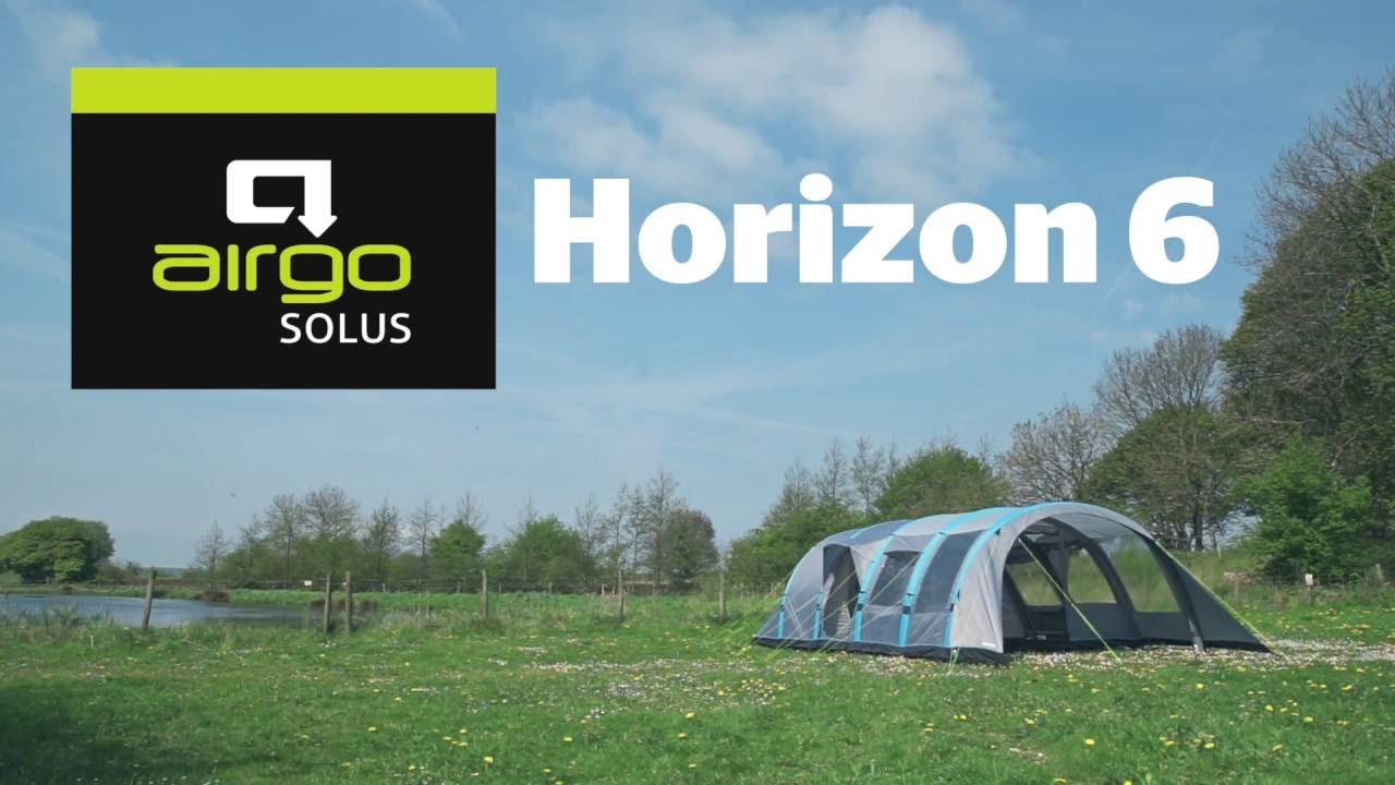 5d5b85520fe6e Airgo Solus Horizon 6 Air Tent - YouTube
