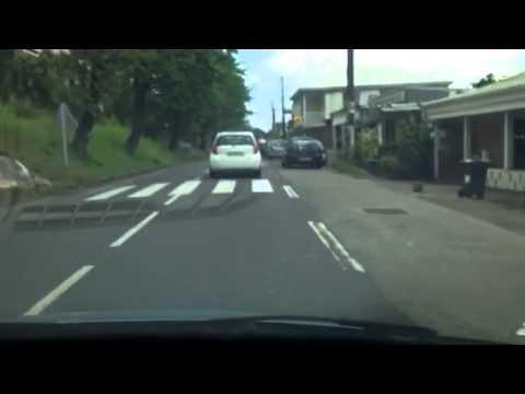 Drive to Bananier en Guadeloupe