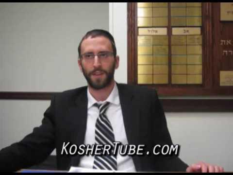 R Yisroel Goldman on the 9 Days (- 2013 07 07) Tish B-Av