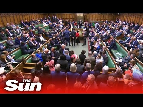 MPs vote to recall parliament if suspended to stop no deal Brexit