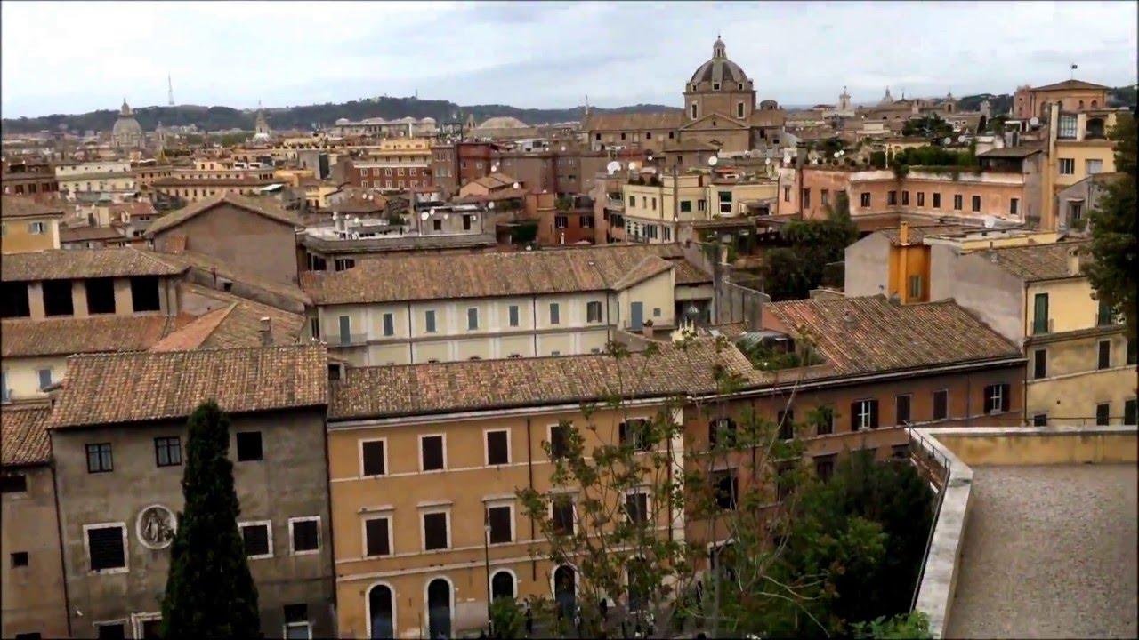 Roma vista dalla Terrazza Caffarelli  View of Rome from Caffarelli terrace  YouTube