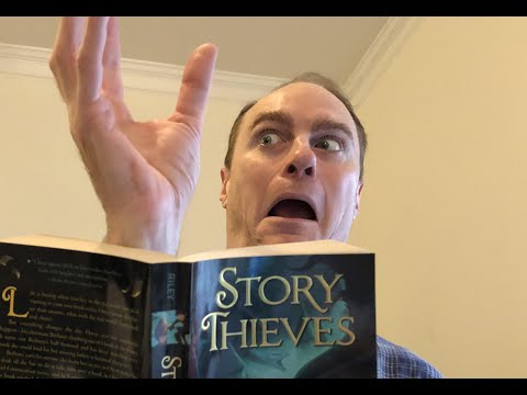 STORY THIEVES Chapter 1 Book Reading With James Riley
