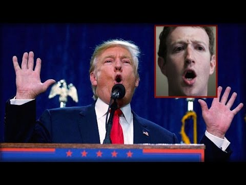 MARK ZUCKERBERG IN SHOCK AFTER WHAT DONALD TRUMP SAID ABOUT FACEBOOK LAST NIGHT