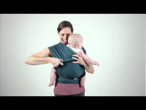 Moby Wrap Hug Hold Instructions Youtube