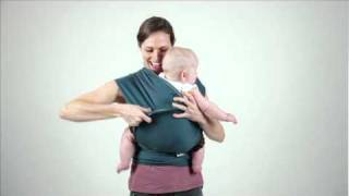 Moby Wrap Hug Hold Instructions