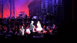 lin manuel miranda usnavi karen olivo vanessa champagne live ith concert