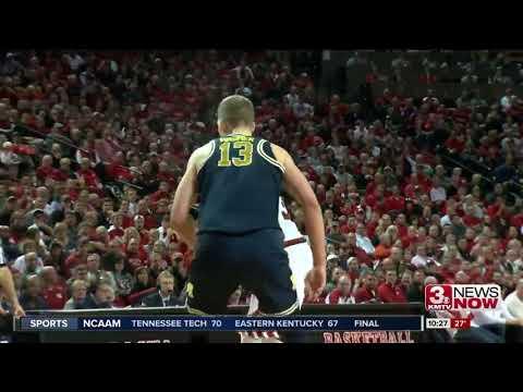 Nebraska basketball takes down No. 23 Michigan