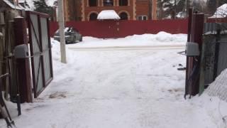 Смотреть видео Распашные ворота в Пушкино